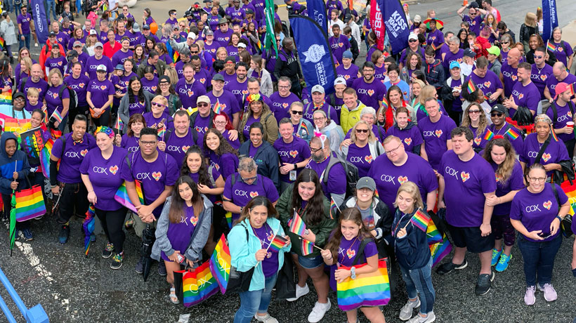 Cox Named A Best Place to Work for LGBTQ Equality